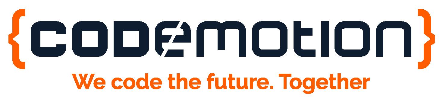 Codemotion_2018_logopayoff_orange_blue