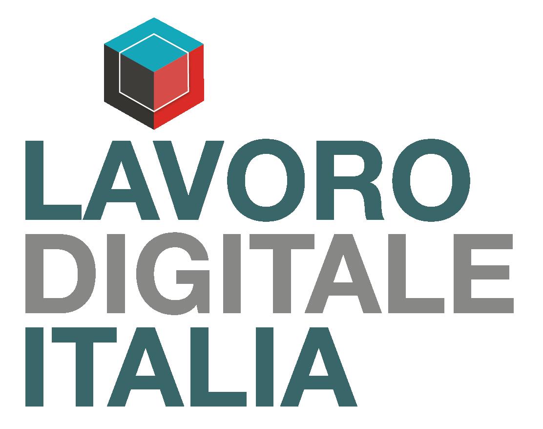 logo LAVORO DIGITALE ITALIA +